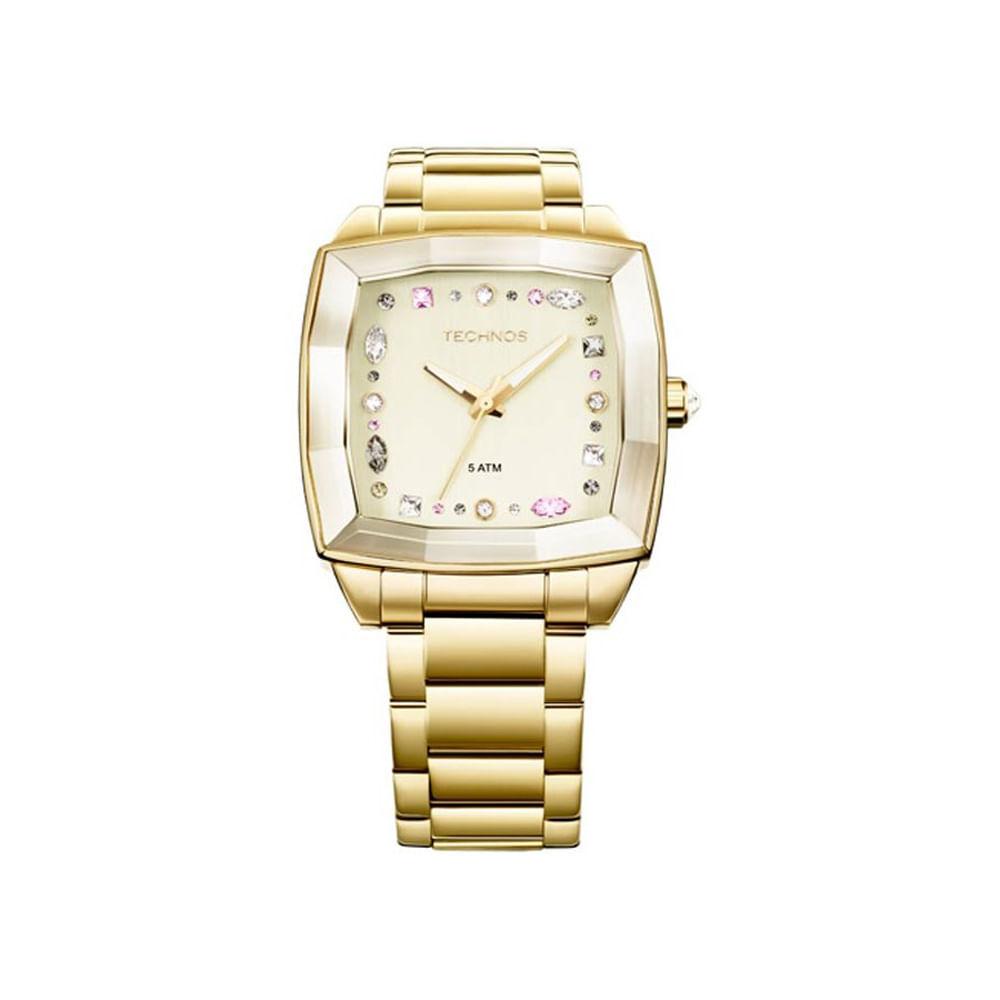 Relógio Technos Feminino Analógico Fashion Swarovski 2036LMV 4X. Cód   2036LMV4X. 2036lmv4x 1 11262c0a9d