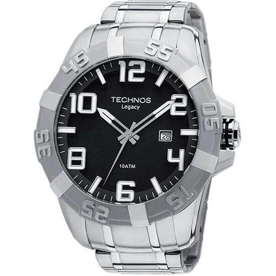 41cb2f389ac Relógio Technos Masculino Classic Legacy fluiartejoias