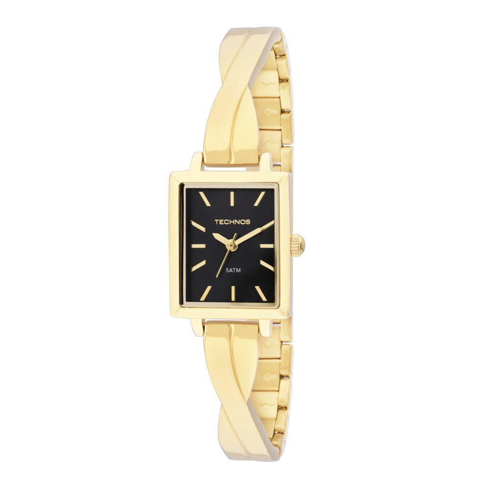 15b689e77881c Relógio Technos Feminino Analógico Fashion 2035LZL 4P - fluiartejoias