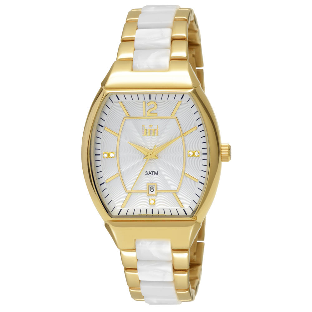 c8cf4103fb7 Relógio Dumont Feminino Elements Dourado DU2115AJ 4B. Cód  DU2115AJ 4B.  DU2115AJ4B