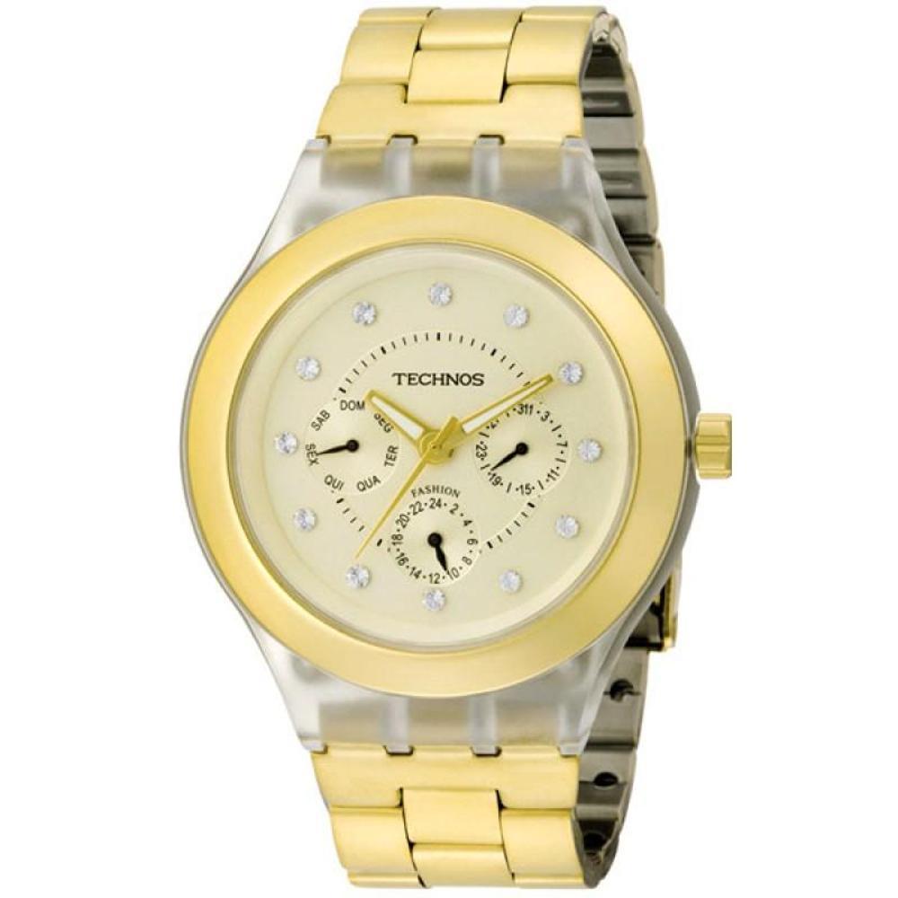 03d2017eb52 Relógio Technos Feminino Fashion Trend 6P29BH 4X