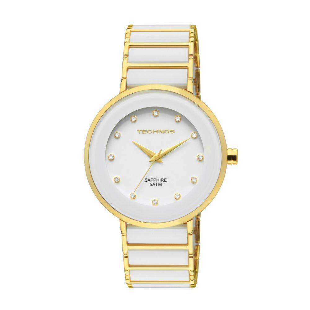 Relógio Technos Feminino Sapphire Ceramic 2035LMM 4B   - fluiartejoias dfb3e978e1