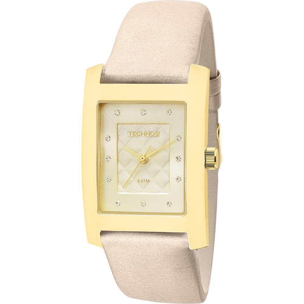 b5ba645640055 Relógio Technos Feminino Dourado 2035LXR 2K - fluiartejoias
