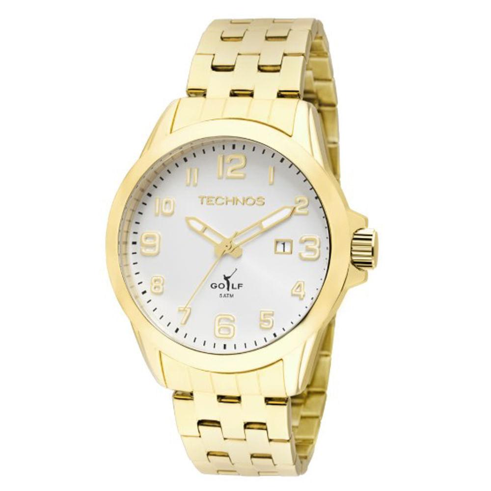 Relógio Technos Masculino Classic Golf 2115KNY 4K - fluiartejoias 029a307466