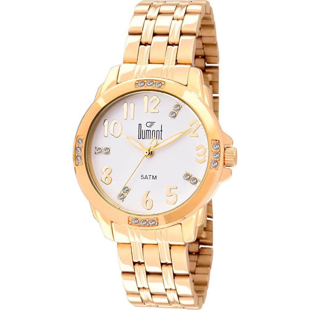 47e31082474 Relógio Dumont Feminino Analógico Casual SA85331 4B. Cód  SA85331 4B.  dumont SA853314B