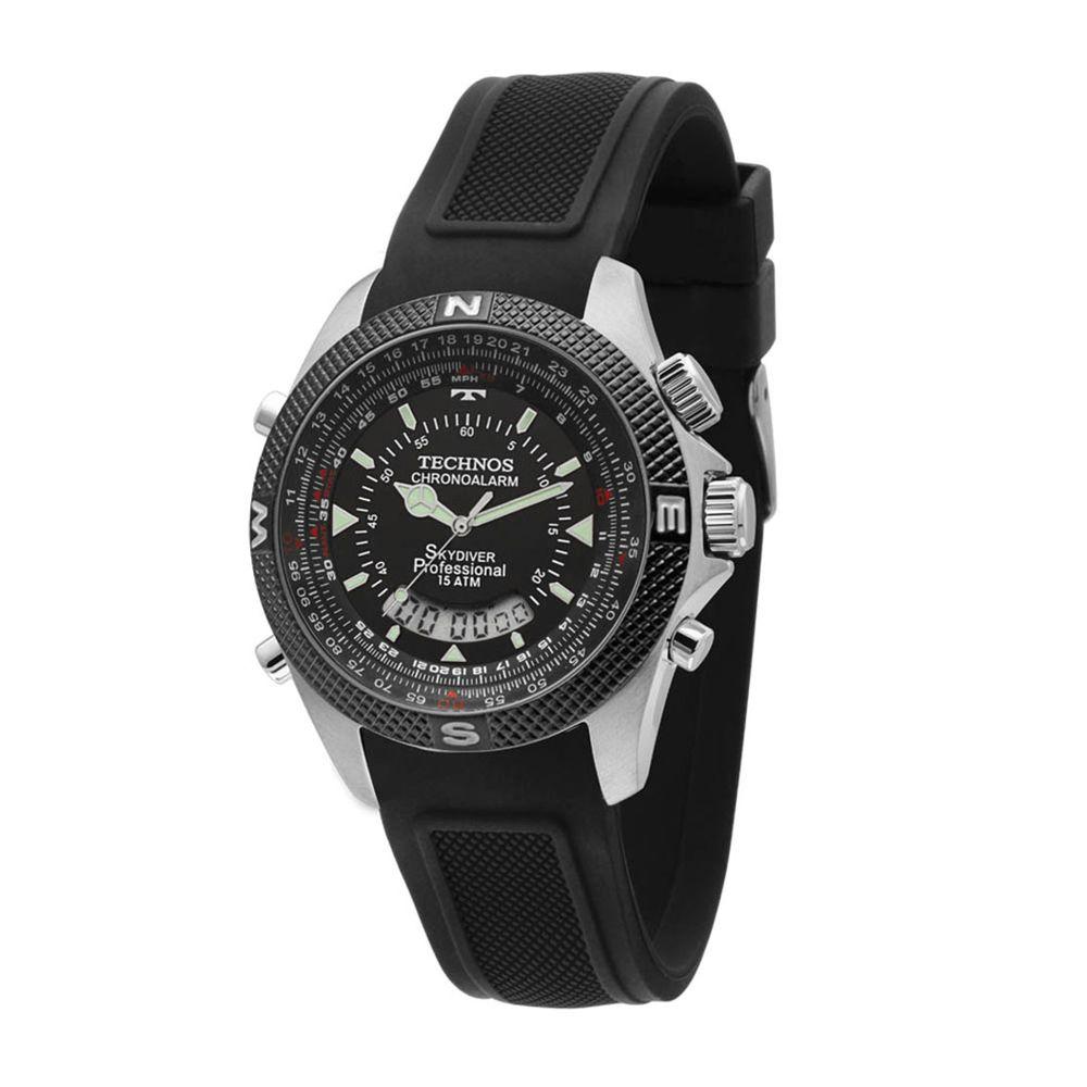 Relógio Technos Masculino Performance Skydiver T205FH 8P. Cód  T205FH 8P.  T205FH8P f840d5cc63