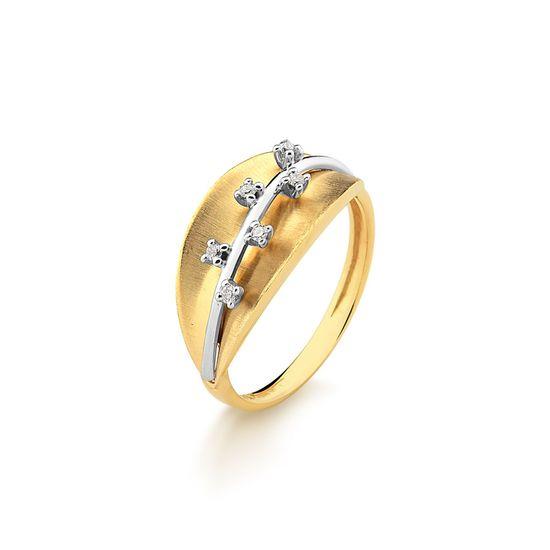 Anel-em-Ouro-Amarelo-com-6-Pts-de-Diamante