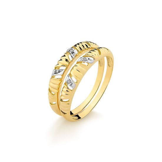 Aparador-em-Ouro-Amarelo-com-4-Pts-de-Diamantes