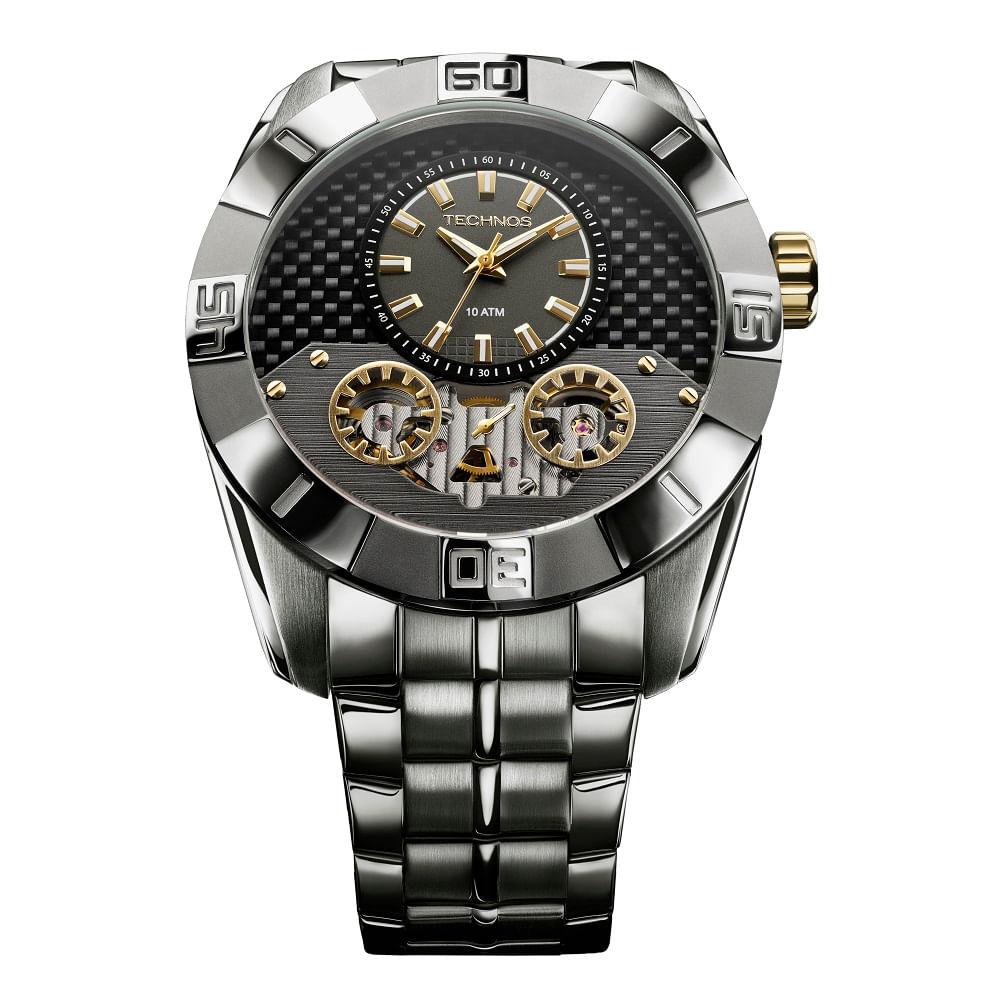 Relógio Technos Masculino 2039AS 1P - fluiartejoias 24225c0418