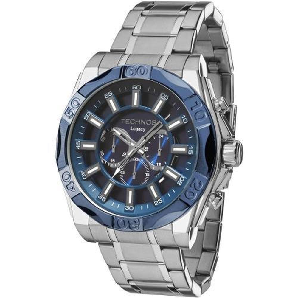 Relógio Technos Cronógrafo Classic Legacy Analógico Masculino JS25BB 1A -  fluiartejoias 19aea7273b