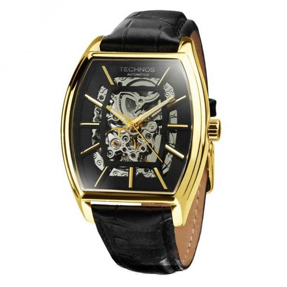 Relógio Technos Masculino Classic Automatic MW6808A 2P - fluiartejoias f03264e6a2