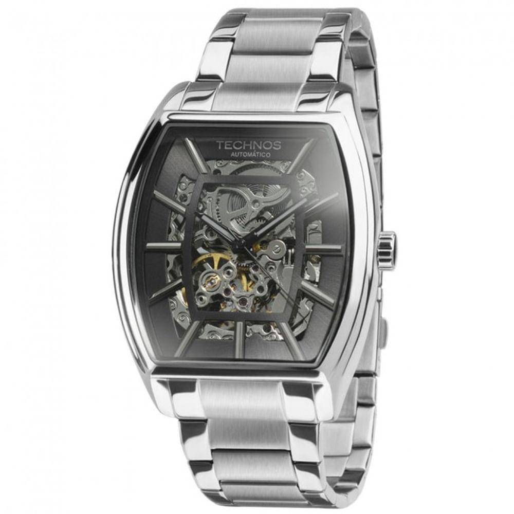 Relógio Technos Masculino Classic Automatic MW6807 1C - fluiartejoias e623500533
