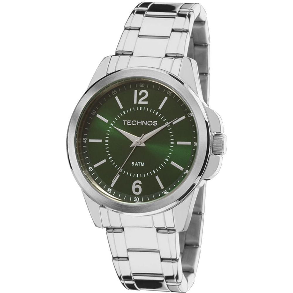 Relógio Technos Masculino Classic Steel 2035MDE 1V - fluiartejoias a563d85c20