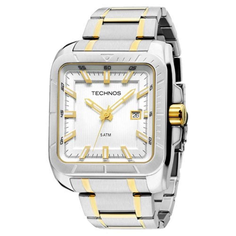 Relógio Technos Masculino Classic 2315YR 5K - fluiartejoias 16009afd6b