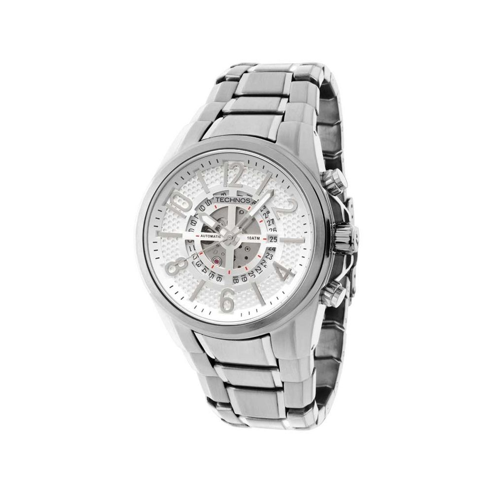 49f702548386c Relógio Technos Masculino Automático TSVS75AA 4P - fluiartejoias