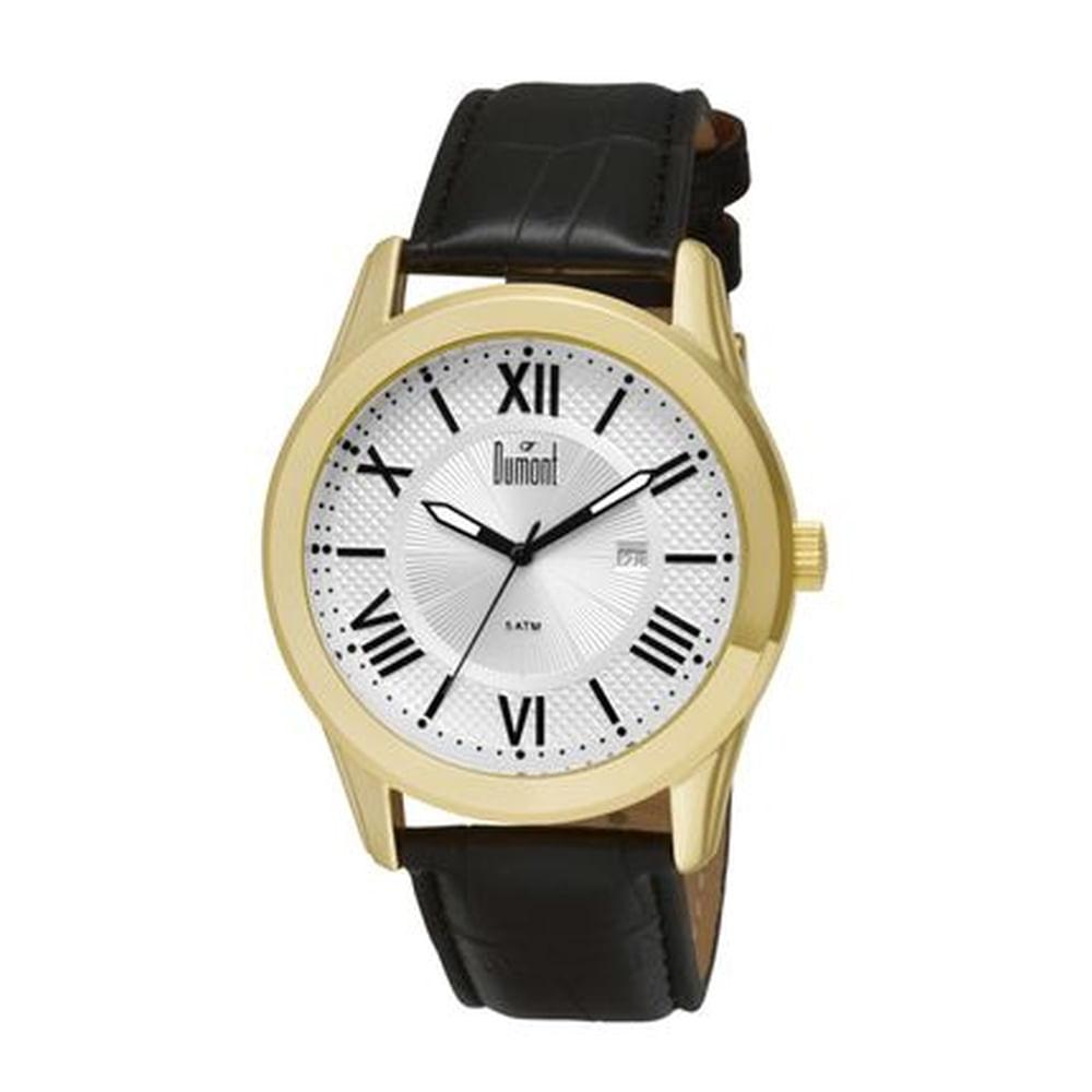 a9eb2e8c2c7 Relógio Dumont Dourado Masculino Berlim DU2115BT 3K. Cód  DU2115BT 3K.  du2115bt2f3k-fluiarte-joias