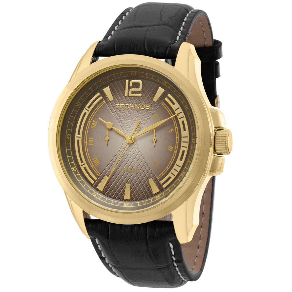 Relógio Technos Masculino Grandtech Analógico 6P25AZ 0M - fluiartejoias f38ac478f0