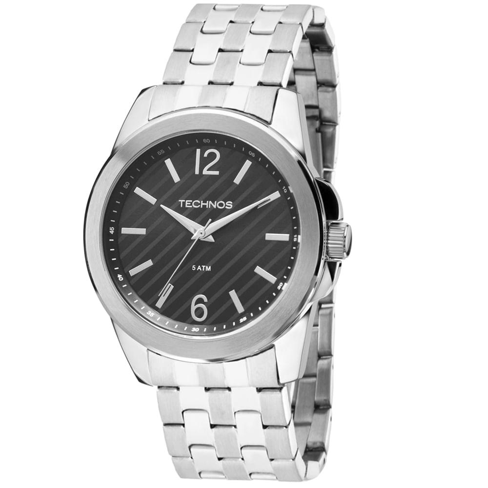 Relógio Technos Masculino Steel Analógico 2035MEZ 1P - fluiartejoias 59083adbaf