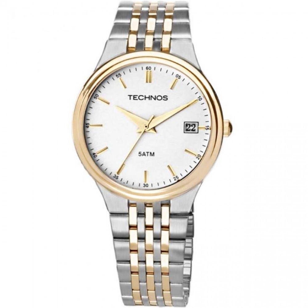 Relógio Technos Masculino Classic Steel 2115GO 5K - fluiartejoias 23d946396f