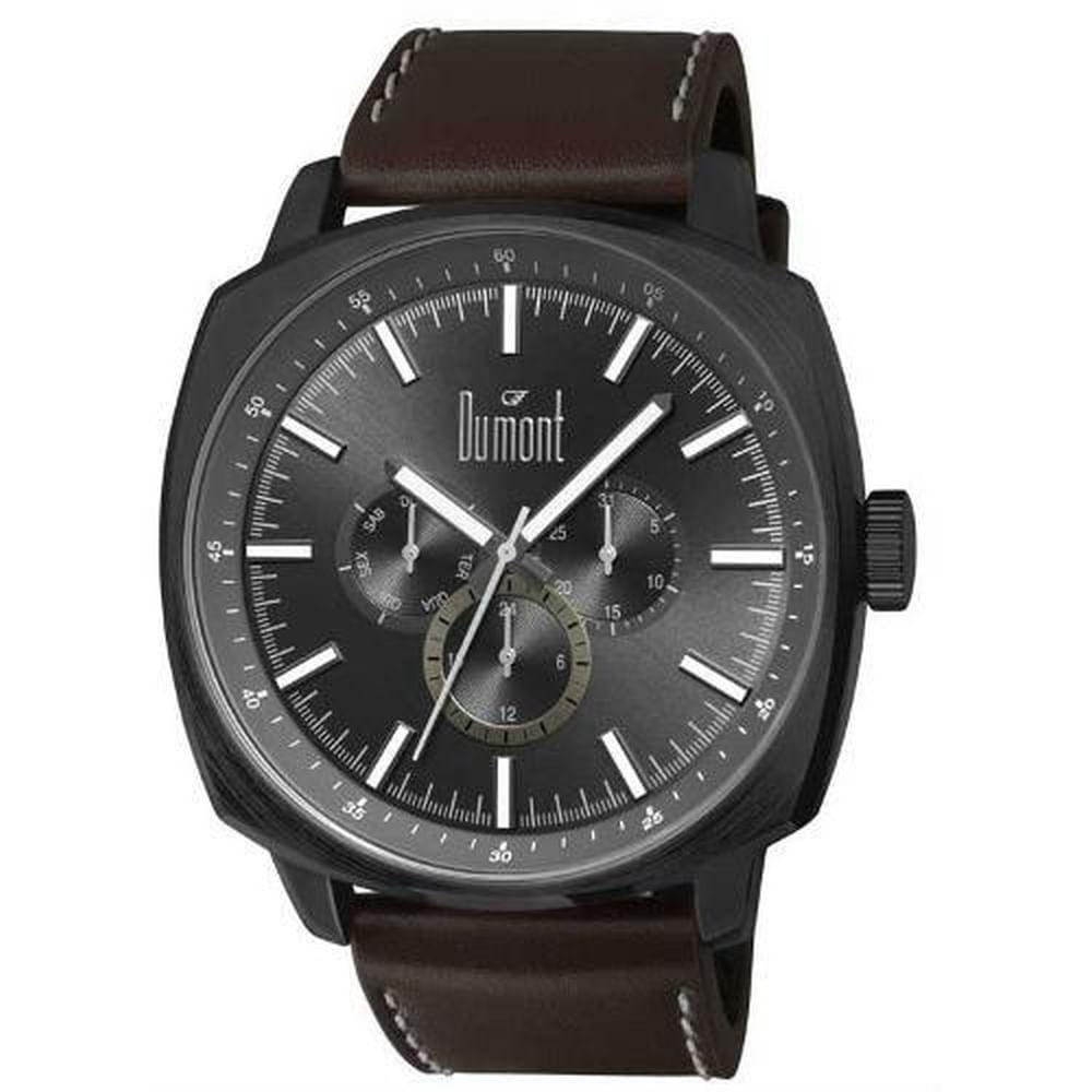 Relógio Dumont Masculino DU6P29ABX 2P - fluiartejoias 0da17f47be