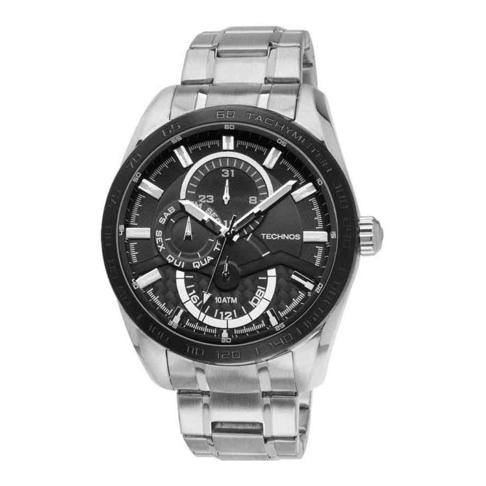 674569328bd44 Relógio Technos Masculino Performance TS Carbon 6P27CB 1P. Cód  6P27CB 1P.  6p27cb1p fluiarte-joias