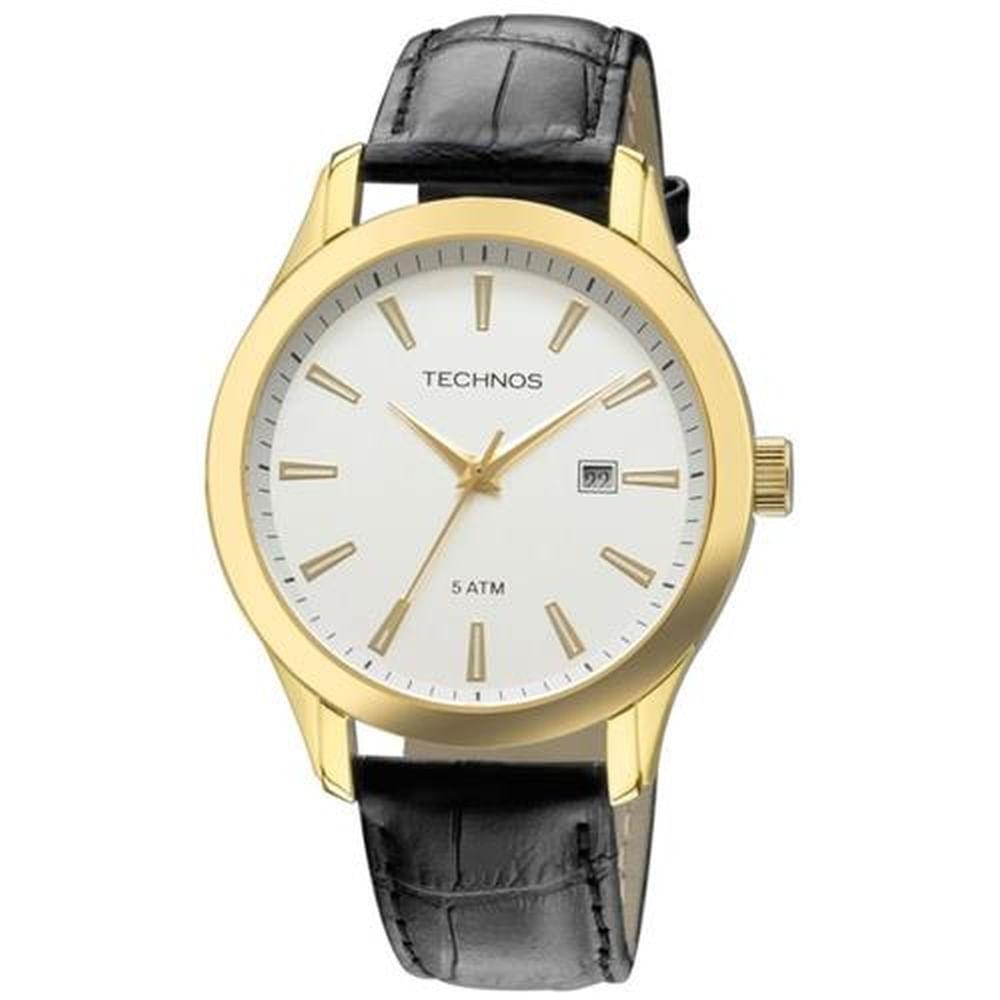 Relógio Technos Masculino Classic Steel 2115UC 2B - fluiartejoias d6d9520d7a