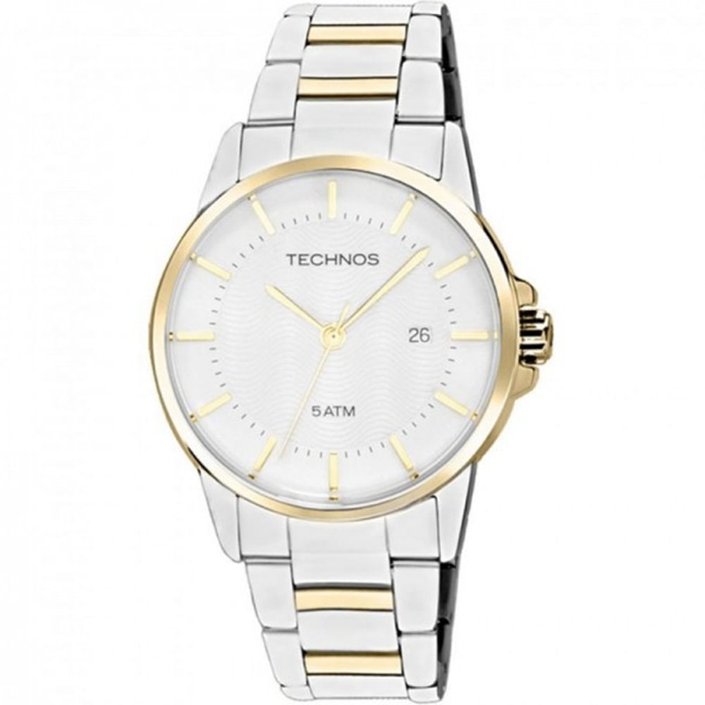 Relógio Technos Classic Masculino 2115PS 5K - fluiartejoias ae7fa29f91