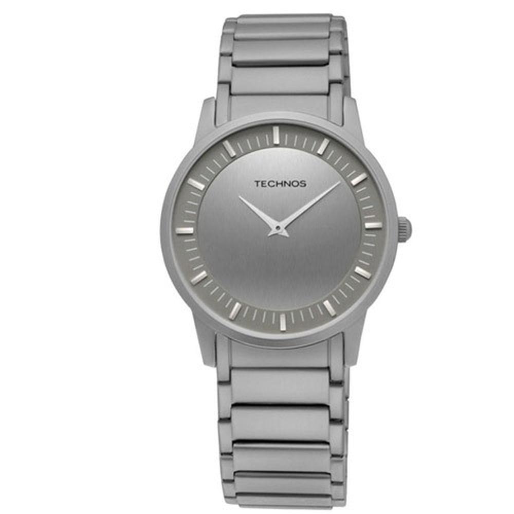 Relógio Technos Masculino Classic Slim GL20BI 1C - fluiartejoias e91d7ce3c0