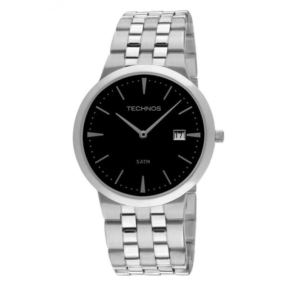 Relógio Technos Masculino Classic Slim 1M15AM 1P - fluiartejoias 9677ab11a8