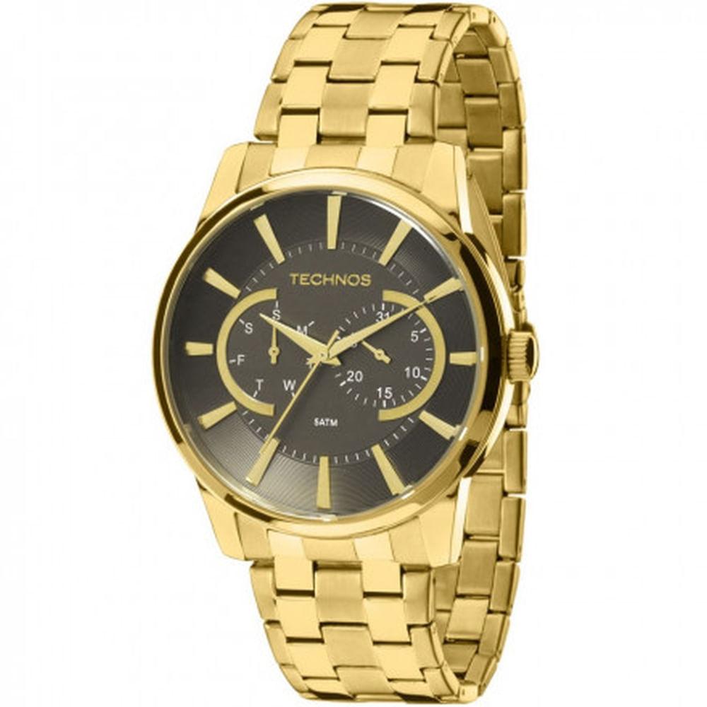 a2464d358a990 Relógio Technos Masculino Classic Grandtech 6P25AQ 4C - fluiartejoias