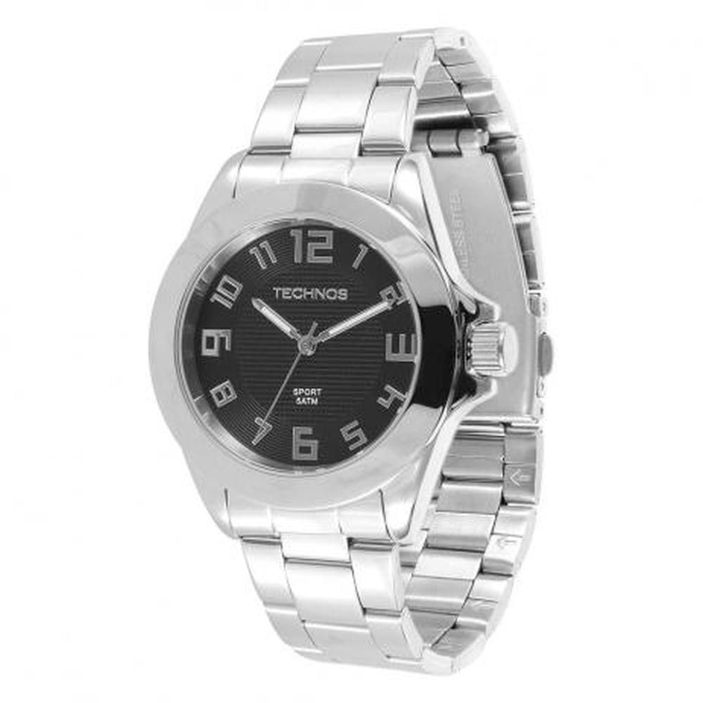 Relógio Technos Masculino Prata 2035VY 1P - fluiartejoias 12c5edbe61