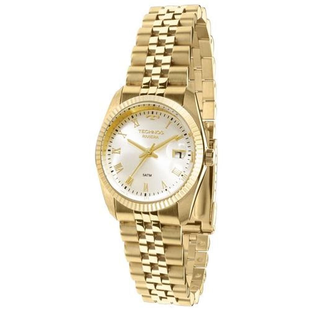Relógio Technos Feminino Classic Riviera GL10HY 4X - fluiartejoias a960931ed4