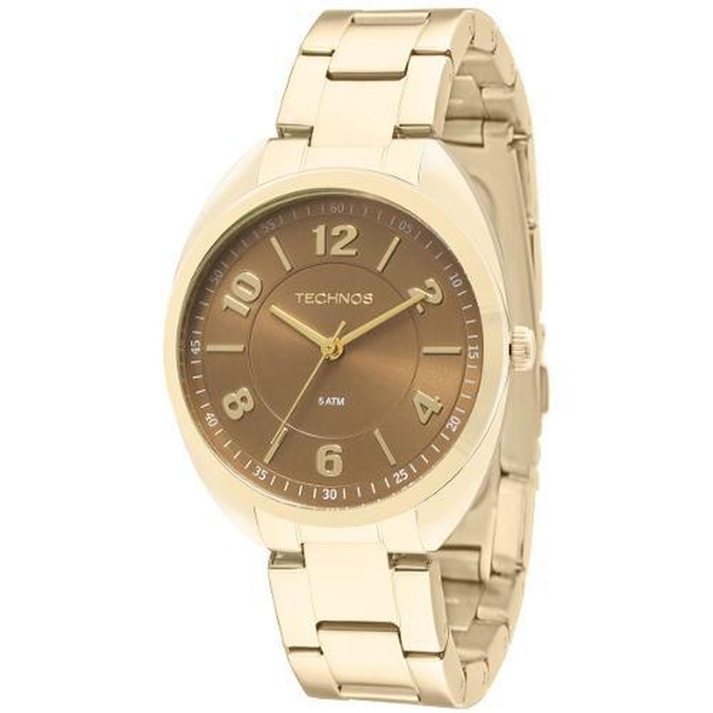 fefbfaf3025bf Relógio Technos Dress Feminino Analógico 2035MCF 4M - fluiartejoias