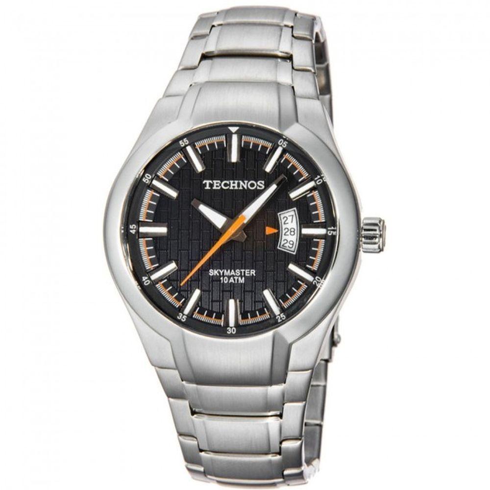 17cd1c3ed5708 Relógio Technos Masculino Skymaster 2115CE 1P. Cód  2115CE 1P.  2115CE1P-fluiarte-joias