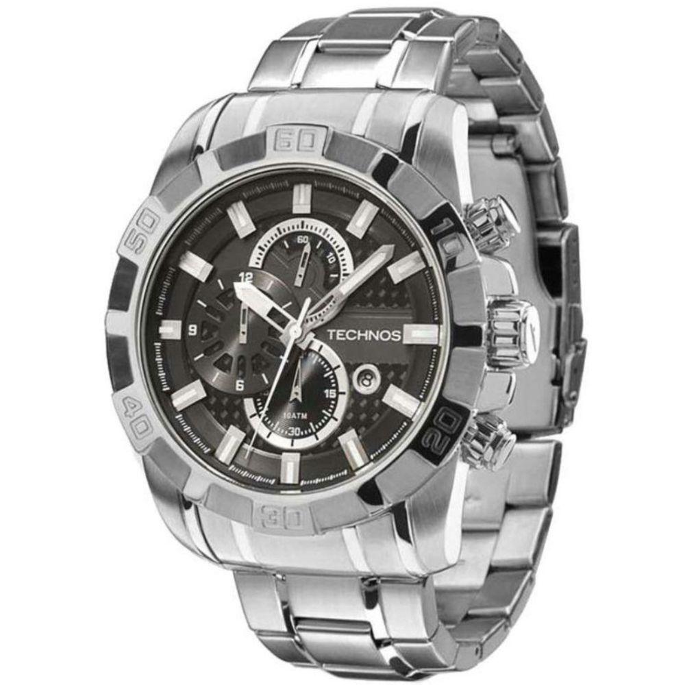 Relógio Technos Masculino Performance TS Carbon OS1AAQ 1P - fluiartejoias a0a883fa51