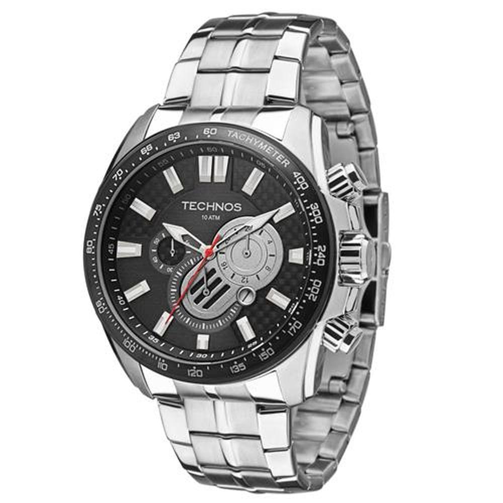 Relógio Technos Masculino Performance TS Carbon OS2AAN 1P - fluiartejoias a5bcb07cf8