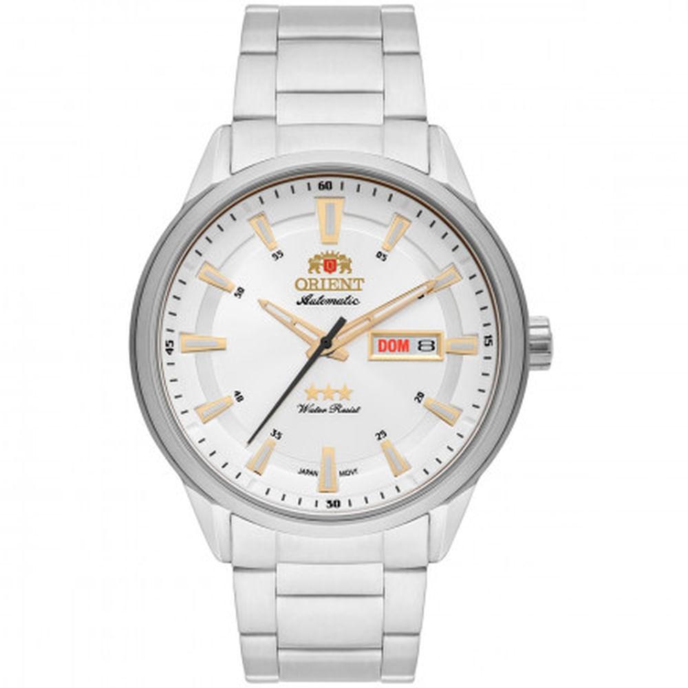 ab9eae37750 Relógio Orient Masculino Automatic 469SS065 S1SX - fluiartejoias