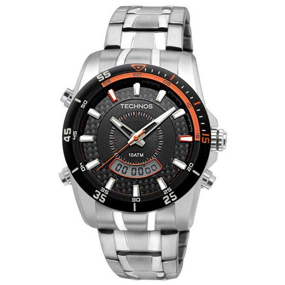 879a487f0149b Relógio Technos Masculino Performance T200AG 1P - fluiartejoias