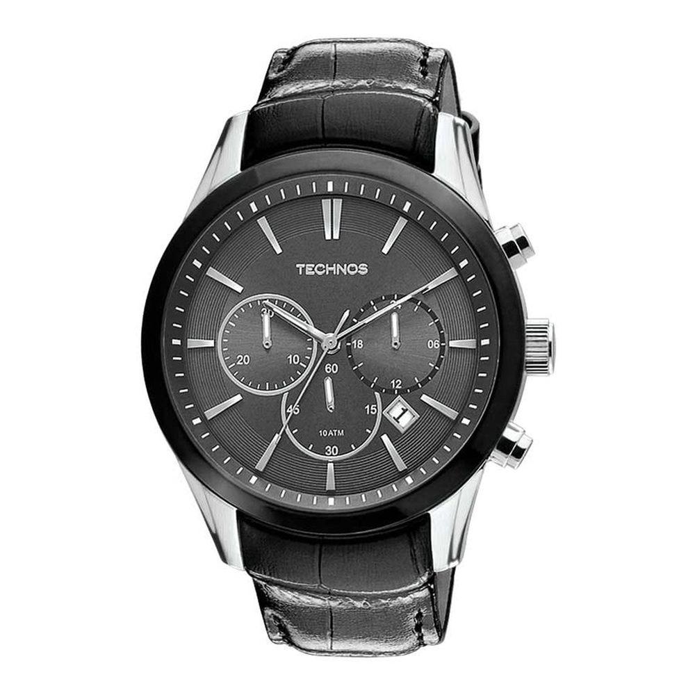 b656f1327154f Relógio Technos Cronógrafo Classic Grandtech JS25AJ 0P - fluiartejoias