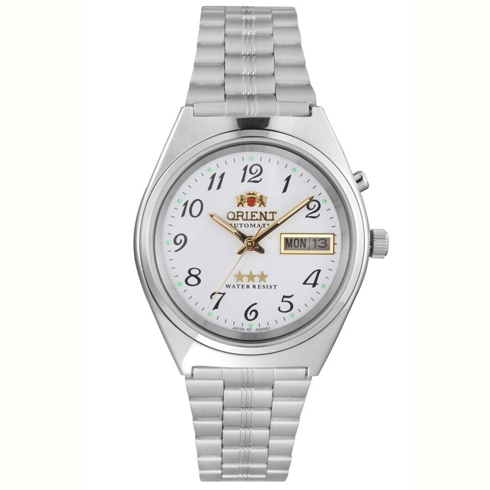 5183d08e6fd Relógio Orient Masculino Automatic 469WB1A B2SX - fluiartejoias