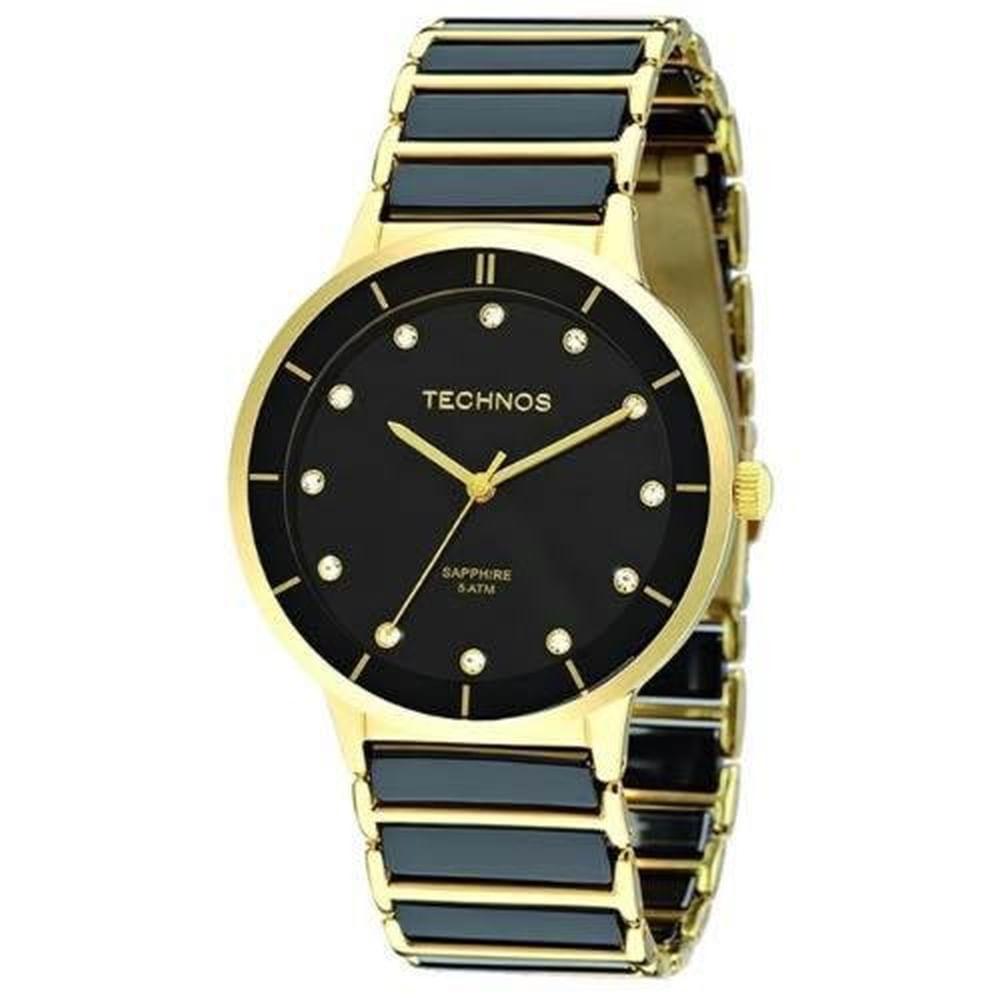 Relógio Technos Elegance Ceramic Feminino 2036LMO 4P. Cód  2036LMO 4P.  2036LMO4P-fluiarte-joias 3c1de262f7