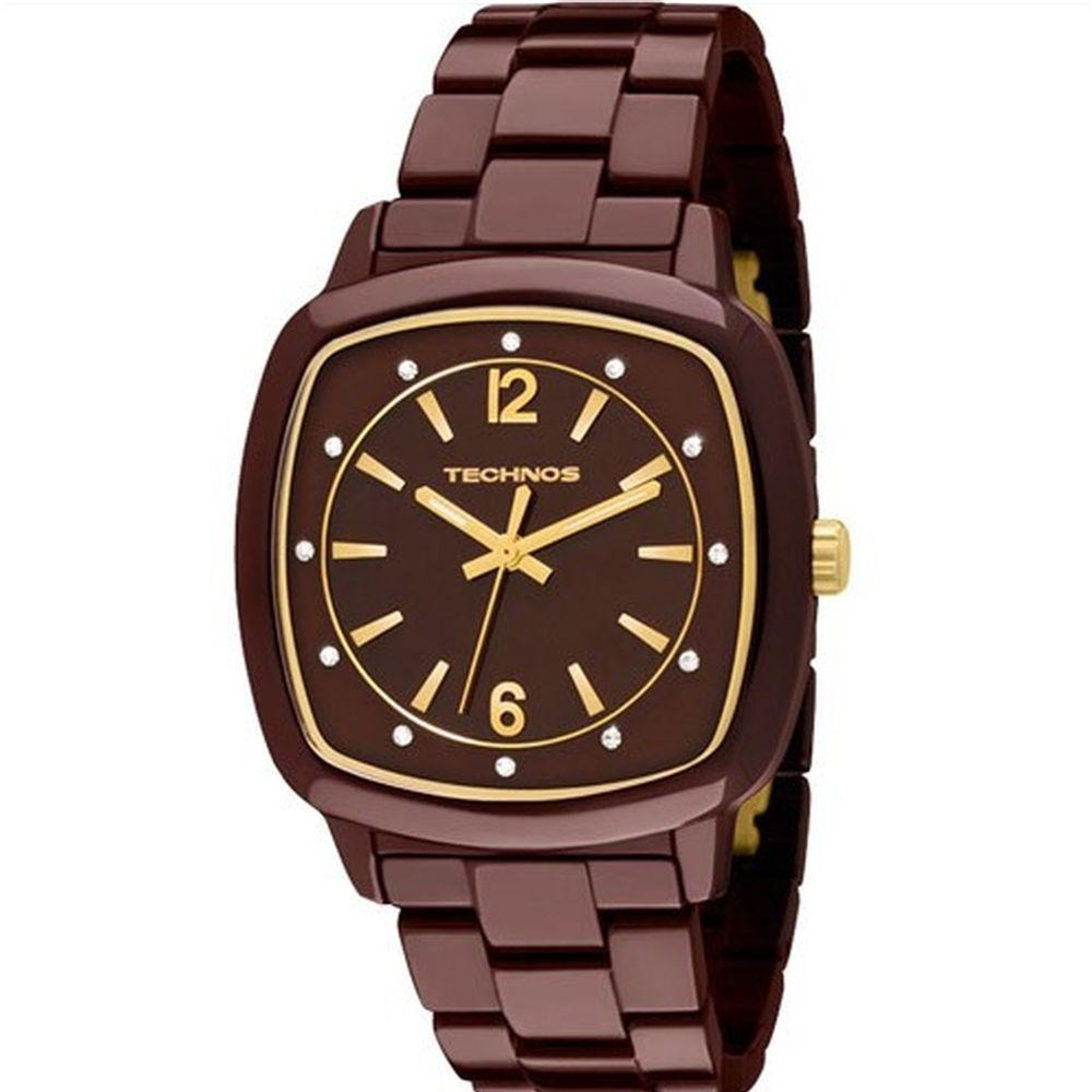 280675de5253f Relógio Technos Feminino Elegance Ceramic 2035DDN 1M. Cód  2035DDN 1M.  2035DDN1M-fluairte-joias