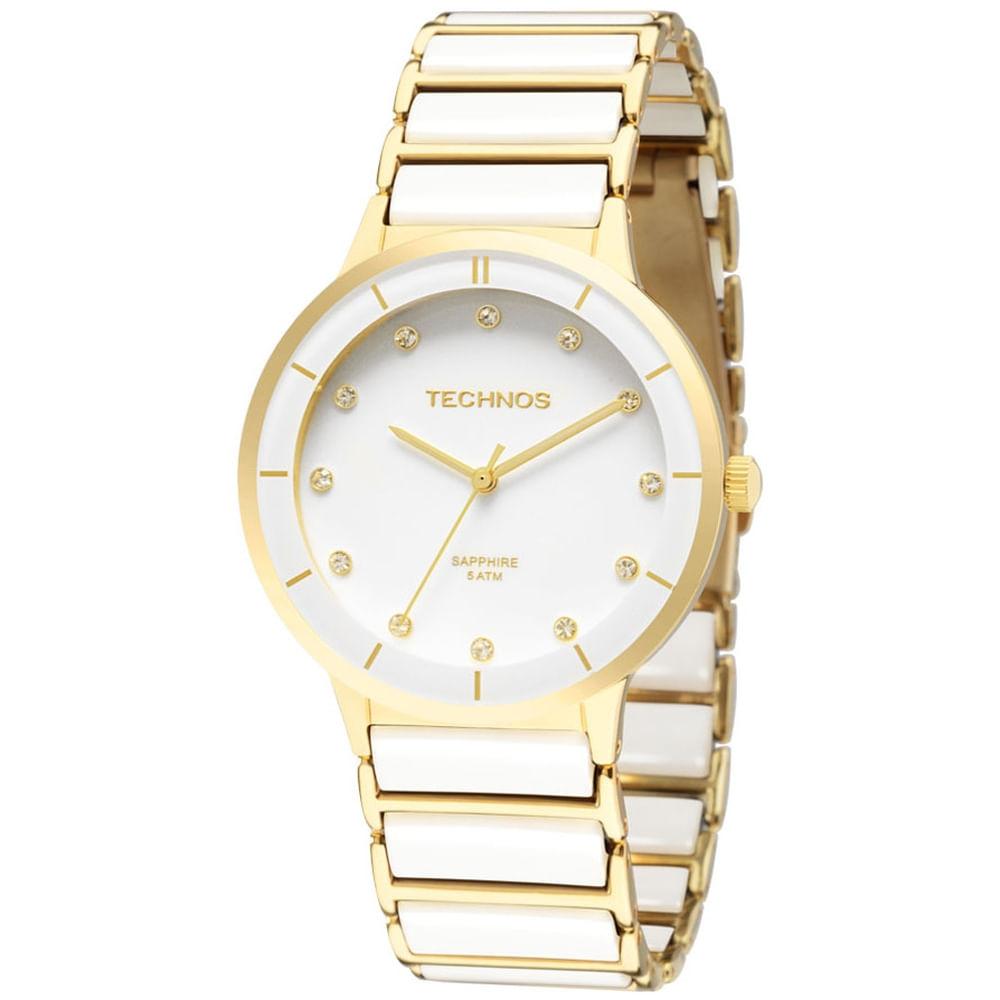 Relógio Technos Feminino Elegance Ceramic 2036LMN 4B. Cód  2036LMN 4B.  2036lmn4b fluiarte-joias 8e0895a2ac