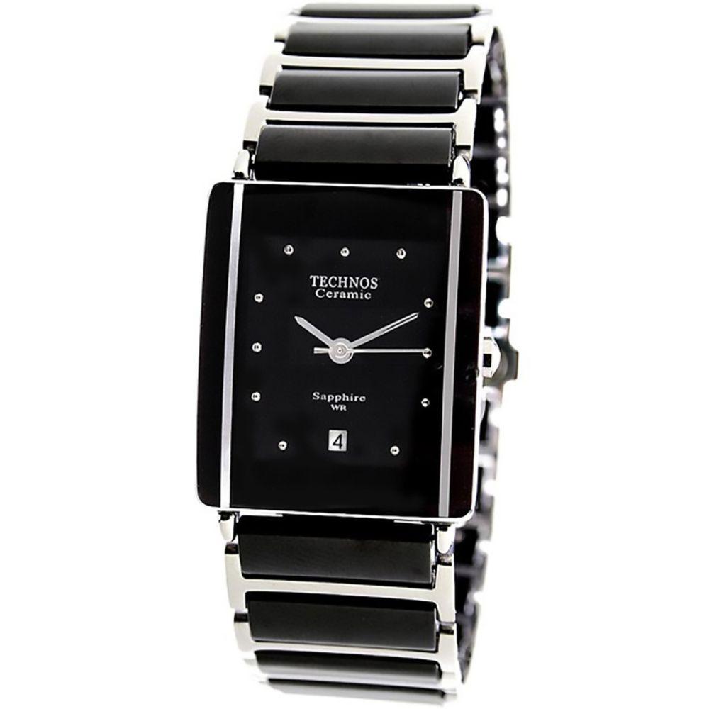 Relógio Technos Feminino Ceramic Sapphire 1N12AC 1P. Cód  1N12AC 1P.  1N12AC1P-fluiarte-joias 43ccdaacf1