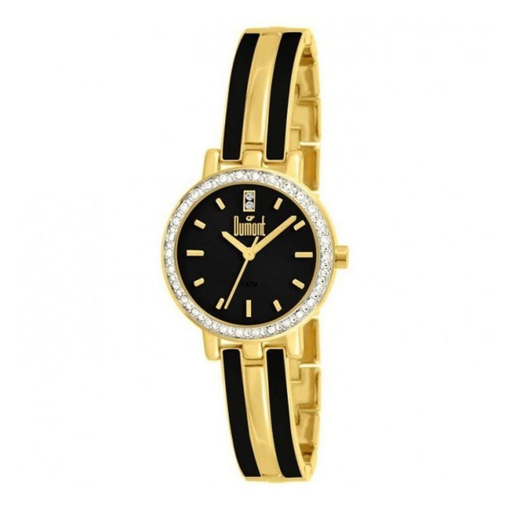 9977422a8eaaf Relógio Dumont Splendore Dourado DU2035LQG 4P - fluiartejoias