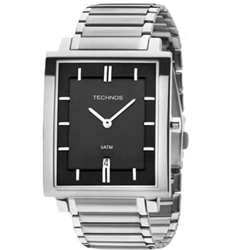 Relógio Technos Feminino Classic Slim 1M15AP 1P. Cód  1M15AP 1P.  1M15AP1P-fluiarte-joias 52021f0b3f