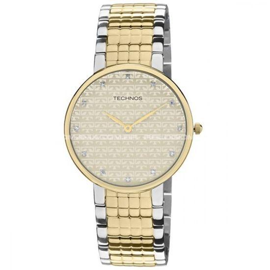 Relógio Technos Slim 1L22BW 5X - fluiartejoias 7c61dff039