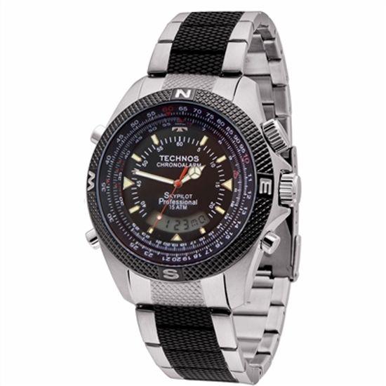 Relógio Technos Masculino Performance Skydiver T205FF 1P - fluiartejoias ef3eaefe6c