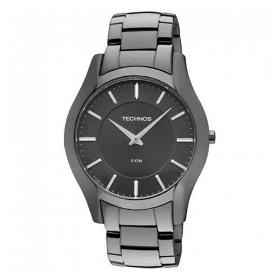 Relógio Technos Masculino Classic Slim GL20GU 1P - fluiartejoias 0deb2e9e5c