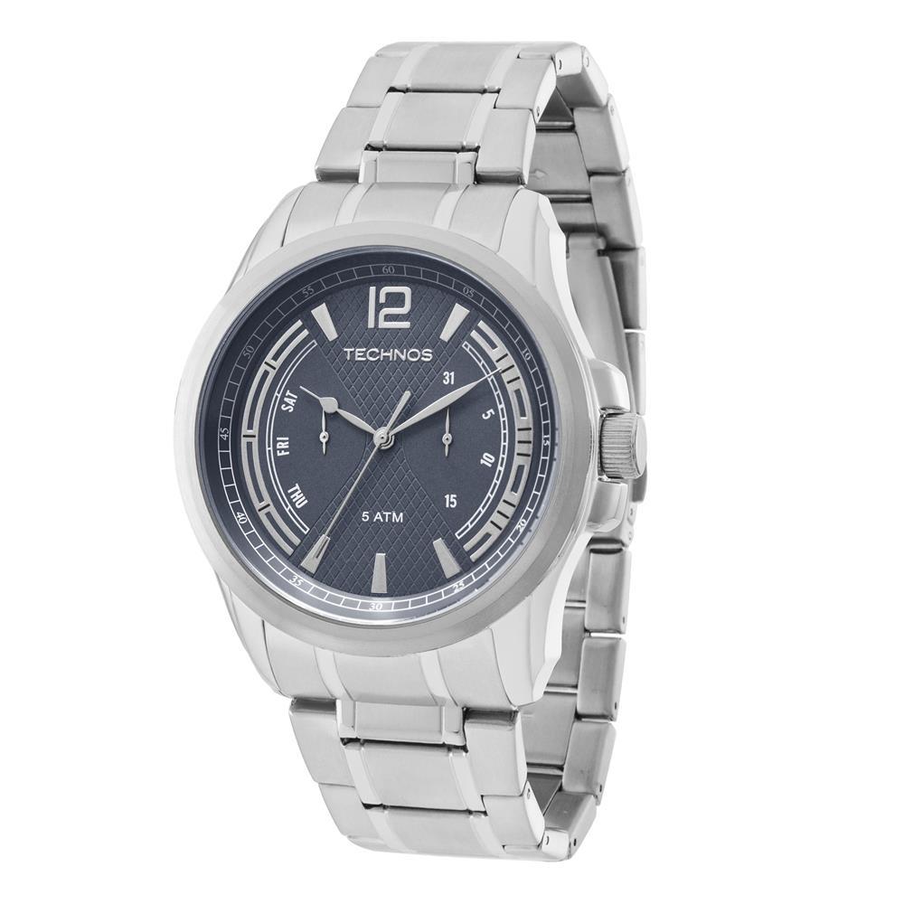 Relógio Technos Masculino Grandtech Analógico 6P25BA 1C - fluiartejoias 8b61f9852d